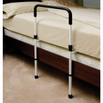 Hand Bed Rail with Floor Support P1411