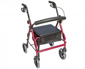 Blazer Aluminum Four Wheel Walker W1630