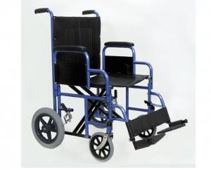 "Endurance HD 22"" Heavy Duty Transport Chair H1922 Blue"