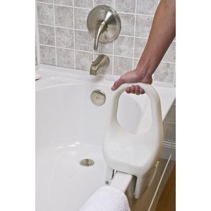Lumex Tub Guard Bathtub Safety Rail Standard, White, 12 Inch 69623A Image