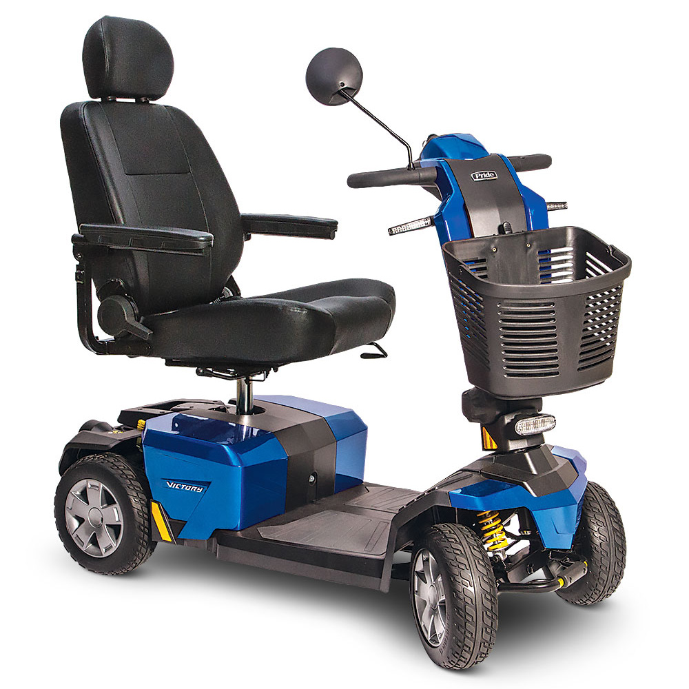 Pride Victory 10 LX with CTS Suspension 4-Wheel Scooter S710LX Image